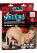 Vivid Raw Kneeling Love Vibrating Doll - Vanilla